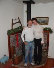 Dad and Diana Christmas 2004