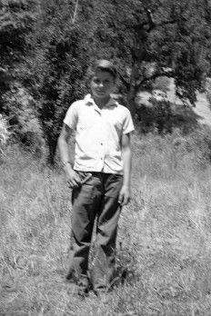 Dad as young boy